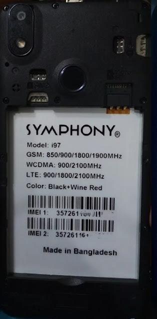 Symphony i97 Flash File