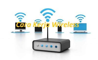 cara kerja jaringan wireless