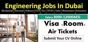 Urgently Required MEP Engineer, CIVIL Engineer & Procurement Executive in Dubai, UAE