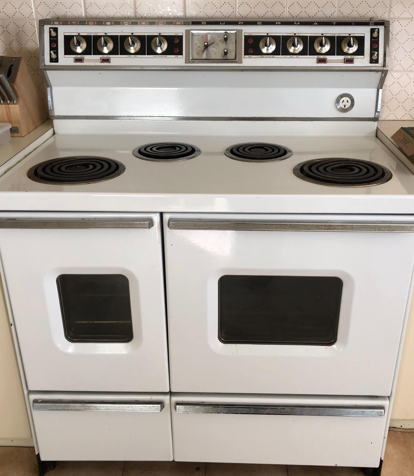 st george supermatic oven manual
