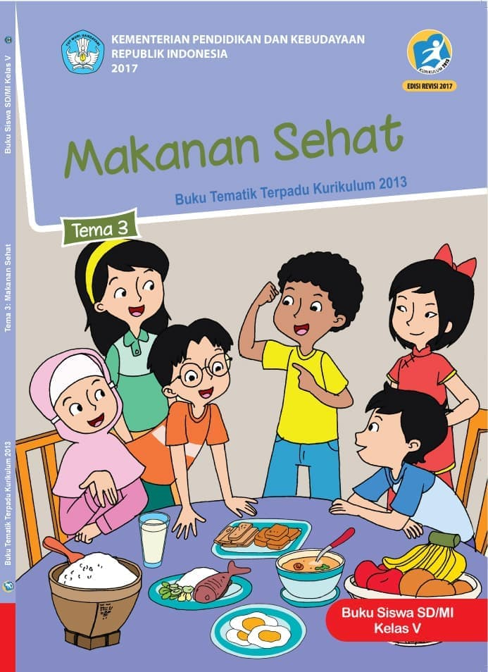 Buku Siswa Tematik SD Kelas V Tema 3 Makanan Sehat