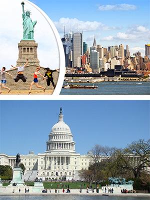 Tour Du Lịch Mỹ: NEW YORK - PHILADELPHIA - WASHINGTON DC - LAS VEGAS - LOS ANGELES - SANDIEGO (10 ngày 9 đêm)