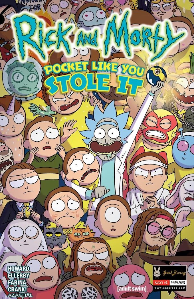 Rick and Morty: Pocket Like You Stole It #5 [Tamamlandı]