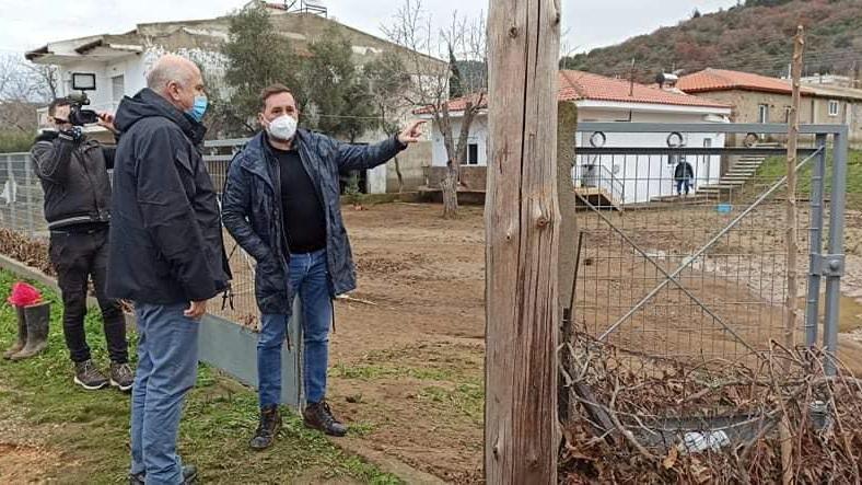 Ξεκίνησε η καταγραφή ζημιών από τον Δήμο Αλεξανδρούπολης και την Π.Ε. Έβρου