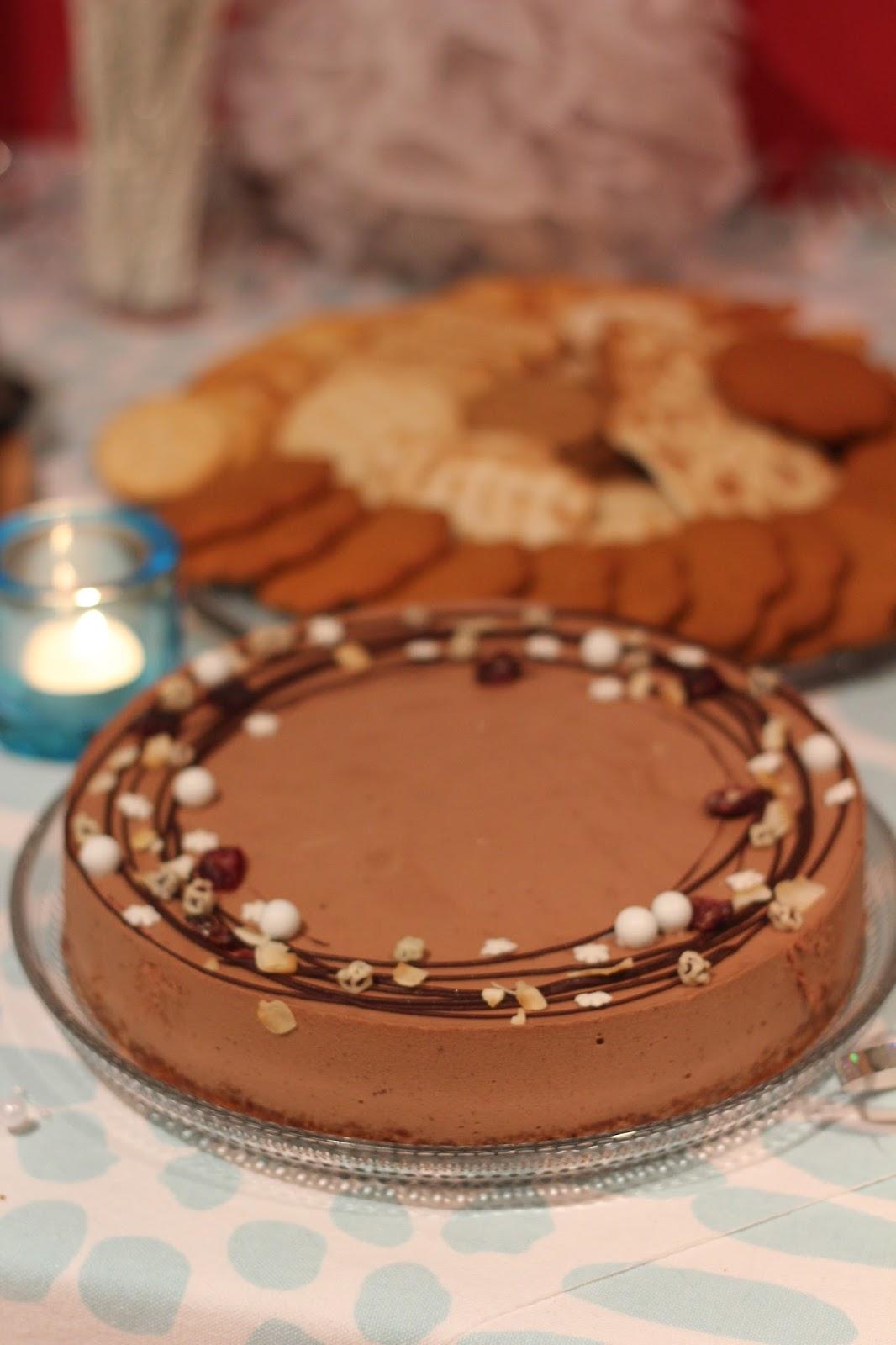 Suklaamoussekakku Ilman Liivatetta