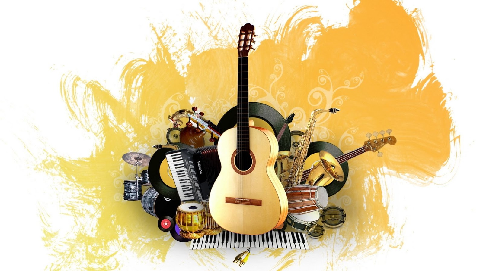 music, painting, instrument, creative