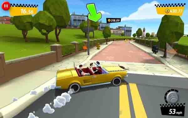 Crazy Taxi City Rush v1.7.2 Mod Apk (Unlimited Money)