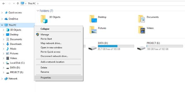 Cara Mengecek Spesifikasi PC Atau Laptop Menggunakan My Computer