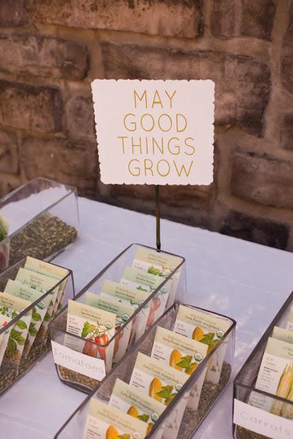 Semillas para hacer crecer cosas buena - Foto: www.stylemepretty.com