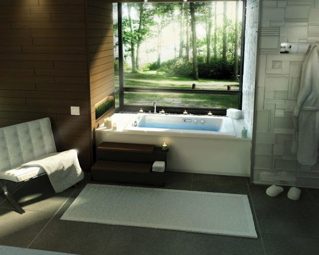 Small Bedroom With Bathroom Design