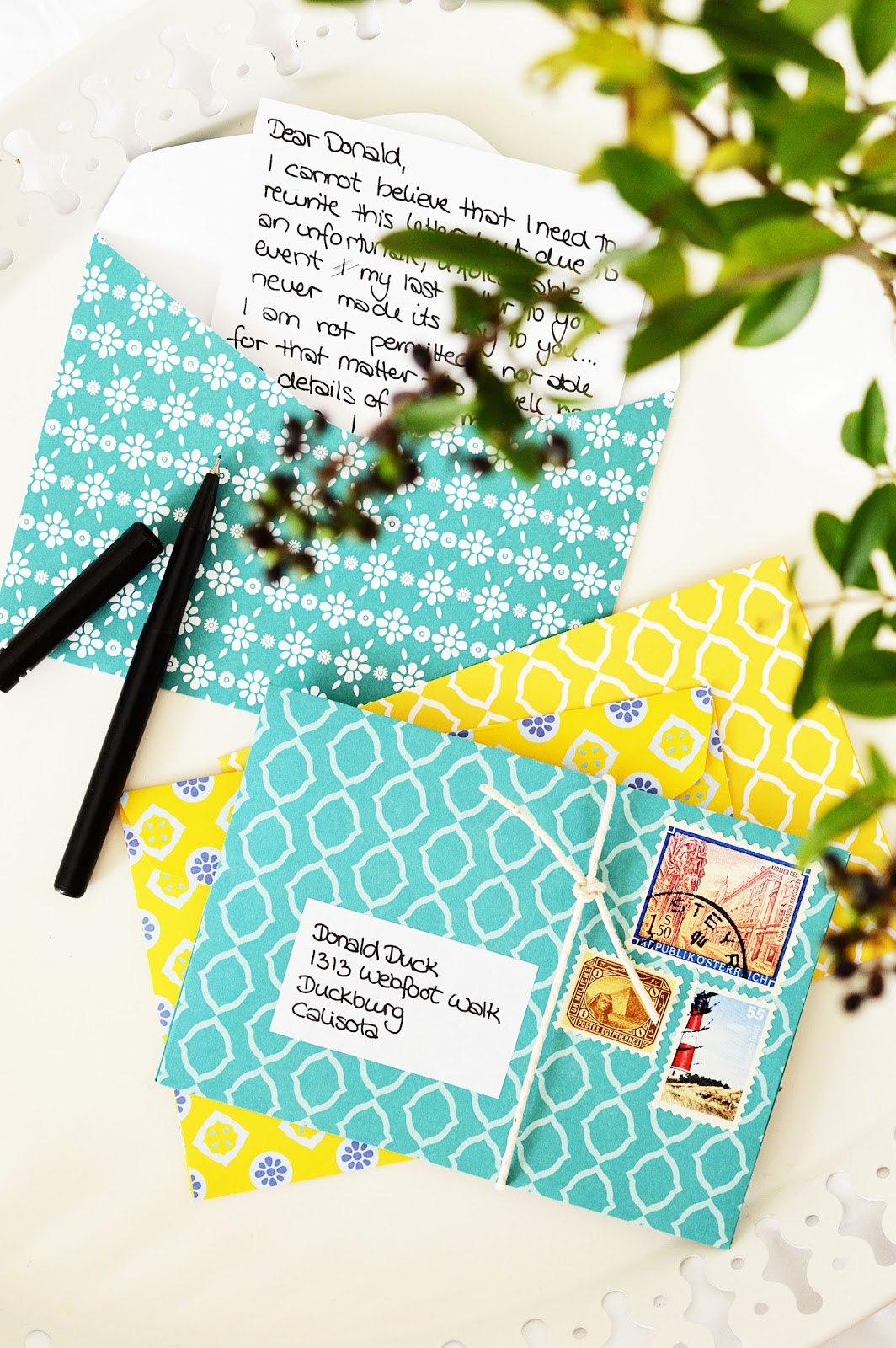 DIY Paper Envelopes | Motte's Blog