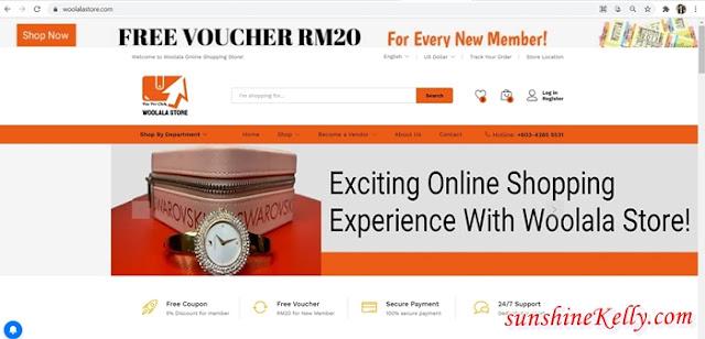 Woolala Store, WooSaving, Dato Hazreena Hamdan, Woolala Pay Per Click, Woolala Group, Online Shopping, Lifestyle