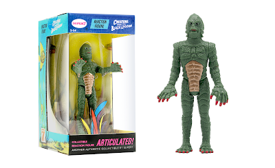 San Diego Comic-Con 2020 Exclusive Universal Monsters Creature From the Black Lagoon Aquarium Box Edition ReAction Figure by Super7