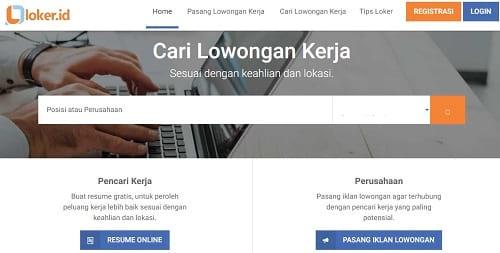 Situs Loker.id