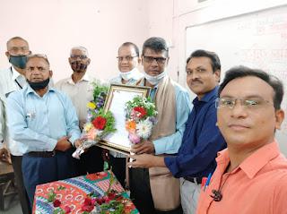 मनपा शिक्षक जयनाथ यादव सेवानिवृत्त | #NayaSaberaNetwork