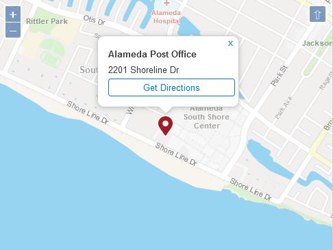Post Office Alameda CA
