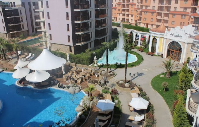 Apartment for sale Sunny beach (Nesebar) - We offer a lovely 1-bedroom apartment for sale in a gated complex. € 72,500 60 m2