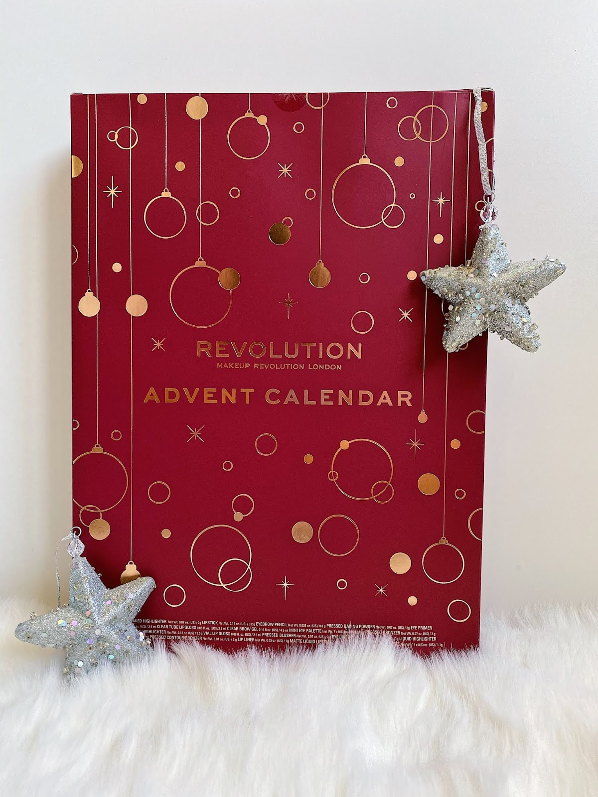 Makeup Revolution Advent Calendar 2019 christmas giveaway instagram Notino