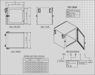 Bản vẽ kỹ thuật tủ chuyển mẫu