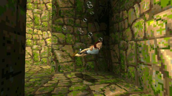 Tomb Raider 1 PC Game Play
