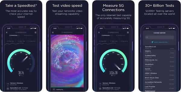 SpeedTest agora testa qualidade do Video em iOS