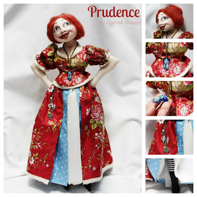 Prudence cloth art doll
