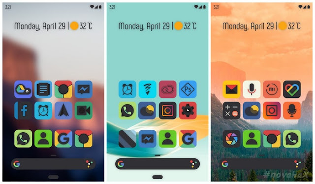 Smoon ui squircle icon pack full APK