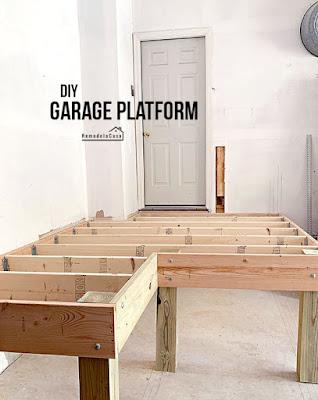 DIY - Garage platform