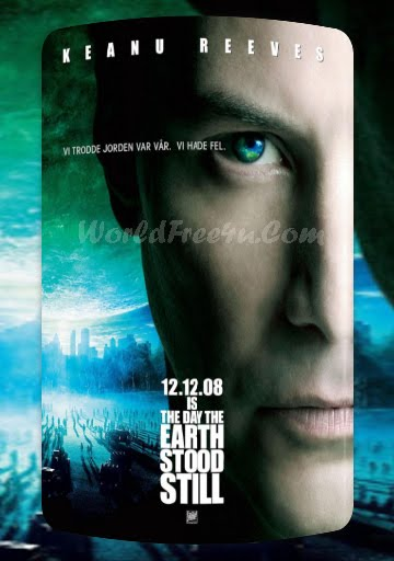 Poster Of The Day the Earth Stood Still In Dual Audio Hindi English 300MB Compressed Small Size Pc Movie Free Download Only At worldfree4u.com