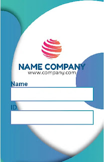 Free Name Tag. Ai : Download Template Name Tag Coreldraw Dan Adobe Illustrator Gratis
