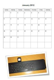 QL Calendar 2012 - The QaLendar