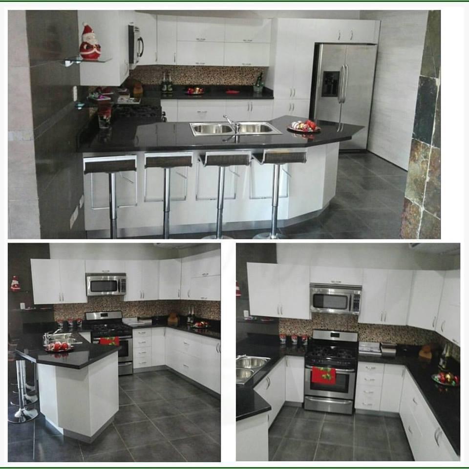 Cocinas Modernas Blancas | Roica Cocinas Modulares - Centro Design ...
