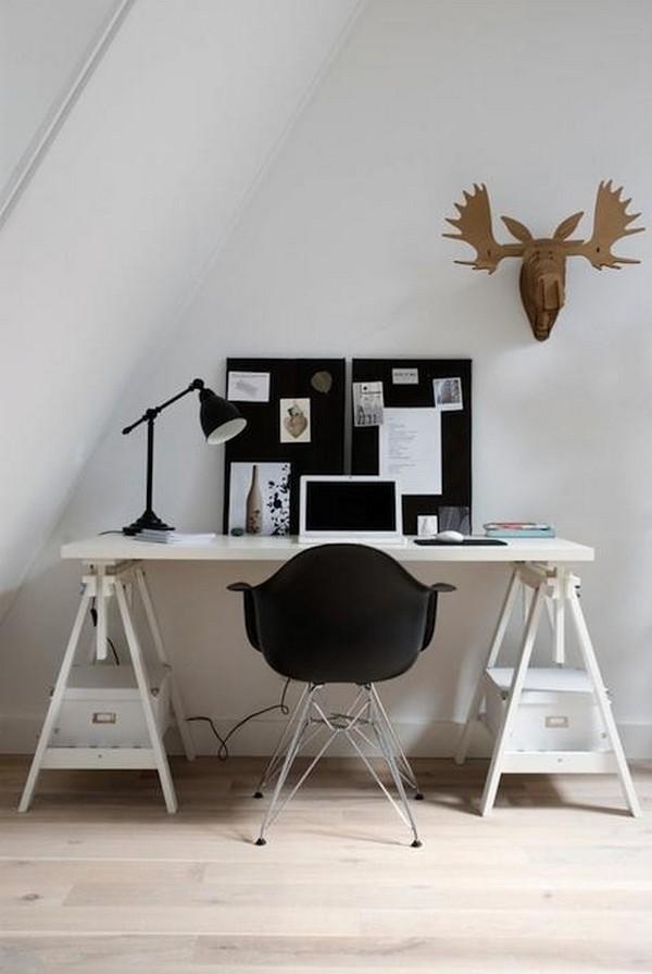 escritorios para el hogar que estimulan la creatividad en el trabajo
