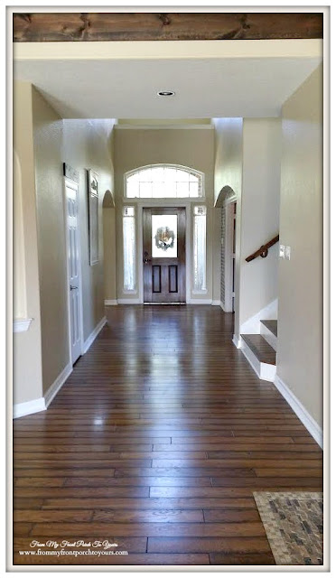 French Country Farmhouse Transformation-Wood Floors