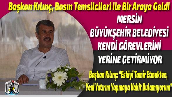 Anamur Haber,Anamur Son Dakika,Anamur Belediyesi,Hidayet Kılınç,