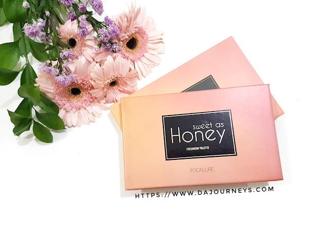 [Review] FOCALLURE Sweet as Honey Eyeshadow Palette