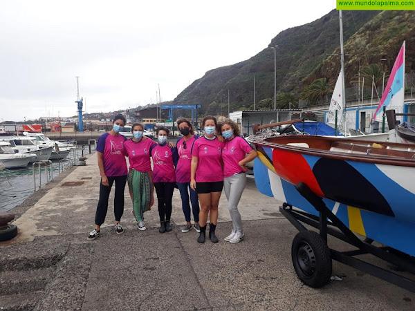 La Federación Canaria de Barquillos de Vela Latina Canaria homenajea a la mujer regatista este 8M