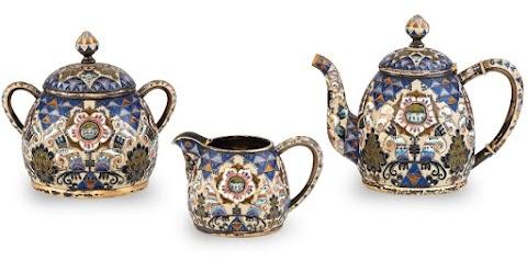 Több mint 25 millió forintért kelt el egy Fabergé-készlet a BÁV árverésén