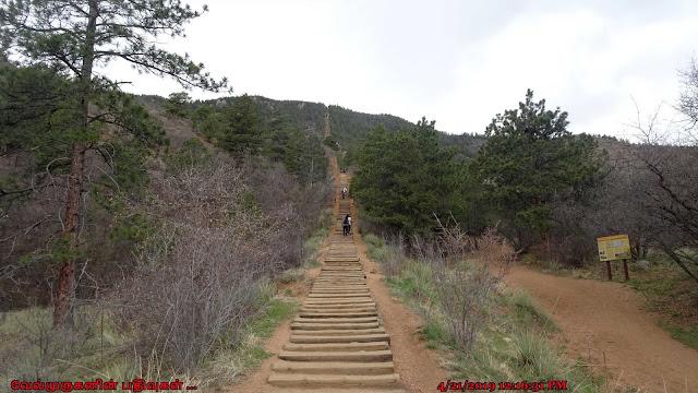 Manitou Incline Hike in Colorado Springs
