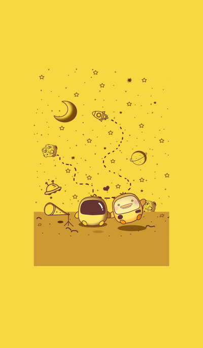 Duck &Yellow Galaxy