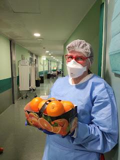 Le arance di Corigliano Rossano donate agli ospedali di Bergamo e Milano