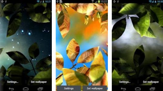 Nba 3d Live Wallpaper Apk Android Hcore Gamer Fresh Leaves 1 5 Apk Live Wallpaper