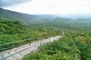 Gunung Galunggung di Kabupaten Tasikmalaya