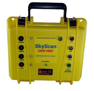 Jual Lightning Detector SkyScan EWS-PRO