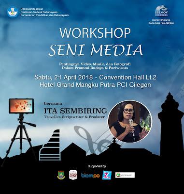 Workshop Seni Media, Ayo Ikut Serta!