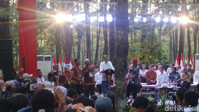 Saat Jokowi Melarang Petani Kampanyekan Dirinya