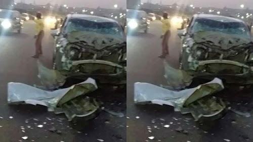 Three people have been killed as a Sports Utility Vehicle, SUV, ran into a moving trailer on Lagos-Abeokuta Road