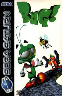 Bug! Sega Saturn cover art