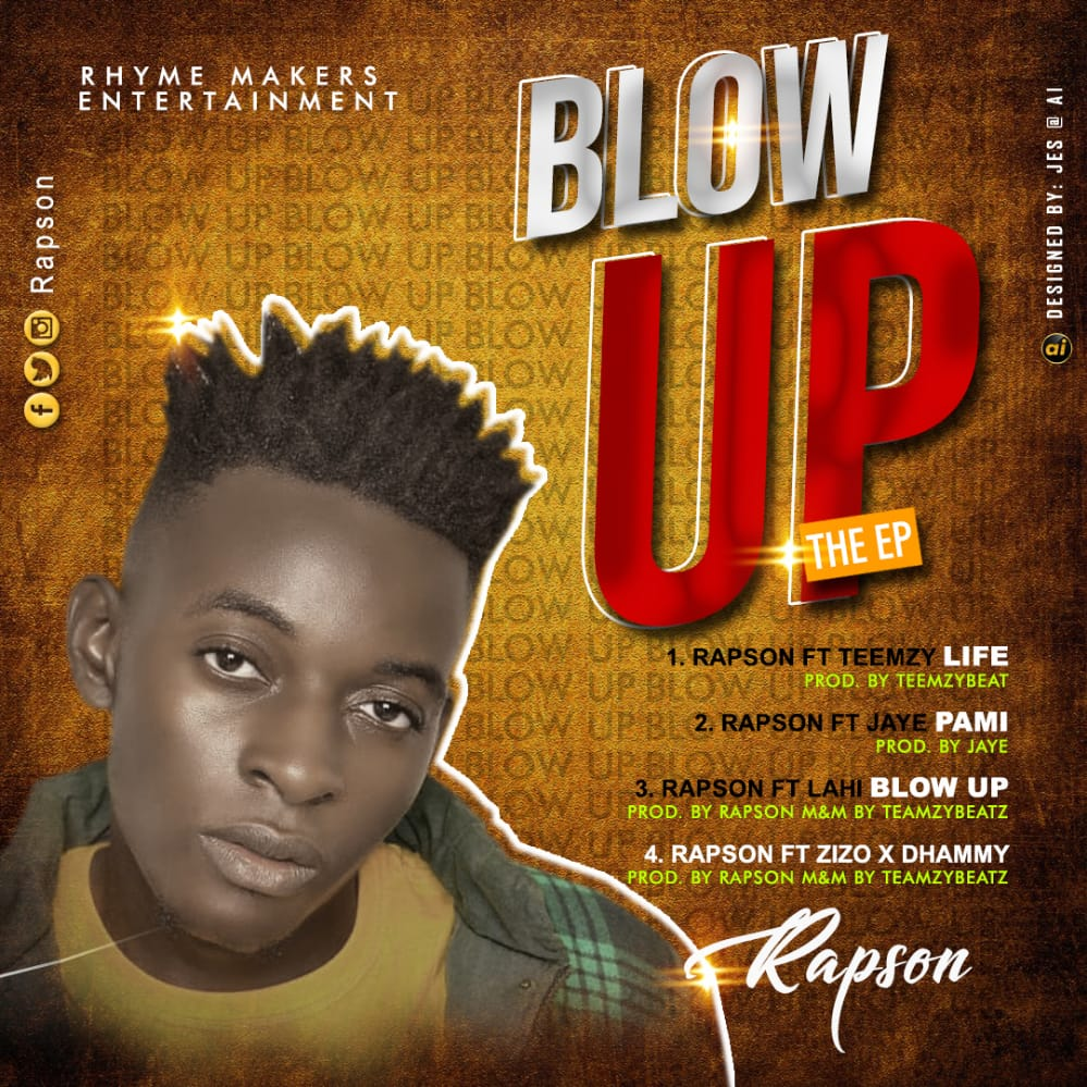 [Extended play] Rapson - Blow up The EP (4 Track project)