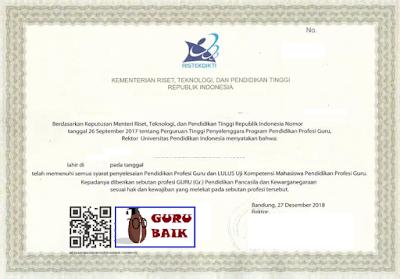 contoh sertifikat pendidik 2021